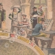 DETAILS 03   History of Printing - Gutenberg - Marinoni - Rotary press