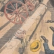 DETAILS 02 | A man and a mule fall from the Airoles bridge near Nîmes - France - 1901