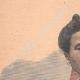 DÉTAILS 01   Portrait de la Reine Ranavalona III à Paris - 1901