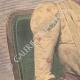 DÉTAILS 02   Portrait de la Reine Ranavalona III à Paris - 1901