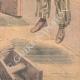 DÉTAILS 06 | Suicide de Gaetano Bresci au pénitentier de Santo Stefano - Italie - 1901