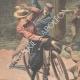 DETAILS 02 | Cyclists attacked in the Bois de Vincennes - Paris - 1901
