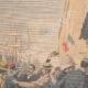 DÉTAILS 01 | Révolte des Boxers - Chine - Arrivée des rapatriés à Toulon - France - 1901