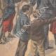 DÉTAILS 02 | Révolte des Boxers - Chine - Arrivée des rapatriés à Toulon - France - 1901