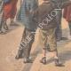 DÉTAILS 05 | Révolte des Boxers - Chine - Arrivée des rapatriés à Toulon - France - 1901