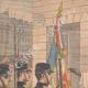 DÉTAILS 01 | Le chef de l'Ambassade du Maroc salue le drapeau français - Toulon - 1901