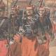 DÉTAILS 04   Expédition de Chine - Les Zouaves rapatriés quittent Tien-Tsin - Chine - 1901