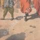 DÉTAILS 05   Expédition de Chine - Les Zouaves rapatriés quittent Tien-Tsin - Chine - 1901
