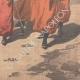 DÉTAILS 06   Expédition de Chine - Les Zouaves rapatriés quittent Tien-Tsin - Chine - 1901