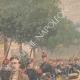 DÉTAILS 02 | Fête nationale française - Revue militaire - 14 Juillet 1901 - Paris