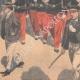 DÉTAILS 03 | Fête nationale française - Revue militaire - 14 Juillet 1901 - Paris