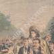 DÉTAILS 05 | Fête nationale française - Revue militaire - 14 Juillet 1901 - Paris