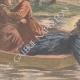 DÉTAILS 02 | Une fillette sauve son amie de la noyade - Port-à-l'Anglais - Ile de France - 1901