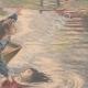 DÉTAILS 04 | Une fillette sauve son amie de la noyade - Port-à-l'Anglais - Ile de France - 1901