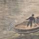 DETAILS 05 | A man dives from the Rouen transporter bridge - France - 1901