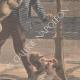 DÉTAILS 04   Deux chiens sauvent leur maitre attaqué par des brigands à Paris - 1901