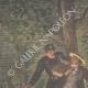 DÉTAILS 01 | Arrestation d'un voleur dans un arbre à Paris - 1901