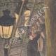 DÉTAILS 05 | Arrestation d'un voleur dans un arbre à Paris - 1901
