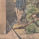 DÉTAILS 05 | Braconnage - Le gibier est caché dans une charrette de choux - Paris - 1901
