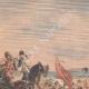 DÉTAILS 01   Nicolas II assiste aux exercices des Cosaques à Livadia - Crimée - 1901