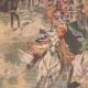 DÉTAILS 02   Nicolas II assiste aux exercices des Cosaques à Livadia - Crimée - 1901