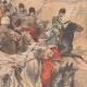 DÉTAILS 04   Nicolas II assiste aux exercices des Cosaques à Livadia - Crimée - 1901