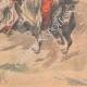 DÉTAILS 06   Nicolas II assiste aux exercices des Cosaques à Livadia - Crimée - 1901