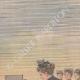 DÉTAILS 03   Grandes manœuvres de l'Est - Nicolas II admire le nouveau canon français - Reims - 1901