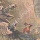 DÉTAILS 04 | Le colonel de Savignac et sa famille tombent dans un ravin - Haute-Vienne - 1901