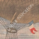 DETAILS 03 | The balloon Méditerranée, escorted by the cruiser Du Chayla, tries to cross the sea - 1901