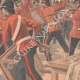 DETAILS 04 | Fight between two English regiments ready to leave to the Transval - Aldershot - 1901