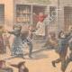 DÉTAILS 02 | Un garçon arrête un cheval emballé à Choisy-le-Roi - Ile de France - 1901