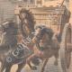DÉTAILS 04 | Un garçon arrête un cheval emballé à Choisy-le-Roi - Ile de France - 1901