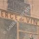 DETAILS 01 | A thief jumps through the window of the police station - Quartier du Mail - Paris - 1901
