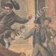 DETAILS 04 | A thief jumps through the window of the police station - Quartier du Mail - Paris - 1901