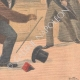 DETAILS 06 | A thief jumps through the window of the police station - Quartier du Mail - Paris - 1901
