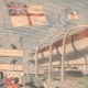 DÉTAILS 03   Explosion à bord du navire anglais Royal-Sovereign - Méditerranée - 1901