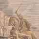 DETAILS 03 | Equestrian statue of Vercingetorix - Transportation - Paris - Clermont-Ferrand - 1901