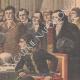 DETAILS 04 | Voltaic pile - Bonaparte attends the demonstration of Alessandro Volta - Paris - 1801