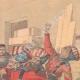 DÉTAILS 03 | Rixe entre soldats allemands et anglais à Tien-Tsin - Chine - 1901