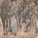 DETAILS 03 | Russian cavalry going to Manchuria - Asia - 1904