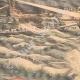 DÉTAILS 02   Guerre russo-japonaise - Torpilleurs japonais contre flotte russe à Port-Arthur - Chine - 1904