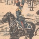 DETAILS 02   Nicolas II acclaimed by the Cossacks before their departure in the Far East - 1904