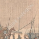 DETAILS 03   Nicolas II acclaimed by the Cossacks before their departure in the Far East - 1904
