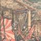 DÉTAILS 01 | L'Empereur du Japon remet les drapeaux à ses troupes - Tokyo - 1904