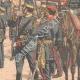 DÉTAILS 04 | L'Empereur du Japon remet les drapeaux à ses troupes - Tokyo - 1904