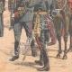 DÉTAILS 06 | L'Empereur du Japon remet les drapeaux à ses troupes - Tokyo - 1904