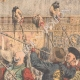 DETAILS 05 | Massacres in China - The Dowager Empress presents the heads of the Mandarins - China - 1904