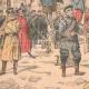 DÉTAILS 02   Exécution d'espions Japonais par les soldats Russes - Port-Arthur - Chine - 1904