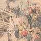 DÉTAILS 03   Exécution d'espions Japonais par les soldats Russes - Port-Arthur - Chine - 1904